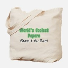 World's Coolest Pepere Tote Bag