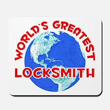 World's Greatest Locks.. (F) Mousepad