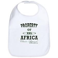Property Of Africa Classic Bib
