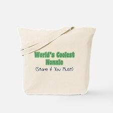 World's Coolest Nonnie Tote Bag
