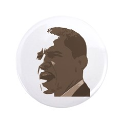 "Obama Sepia Tone 3.5"" Button"