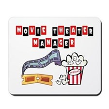 Movie Theater Mgr. Mousepad