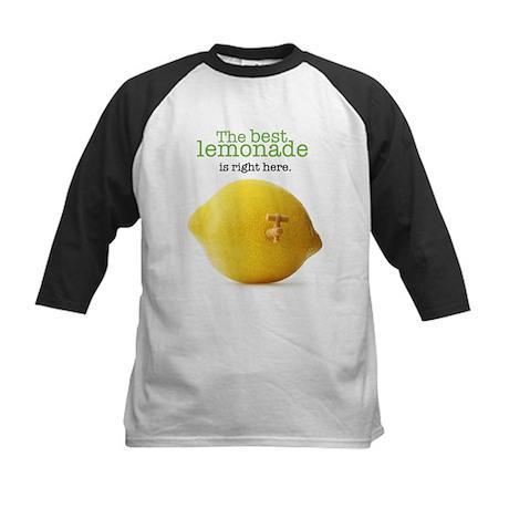 Lemonade Stand - Kids Baseball Jersey