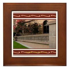 A&M #3 Framed Tile