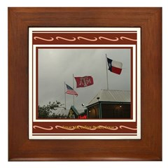 A&M #2 Framed Tile