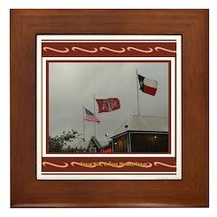 A&M #2 Framed Tile