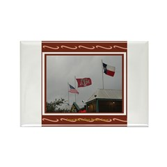 A&M #2 Rectangle Magnet