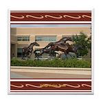 College Station #1 Tile Coaster