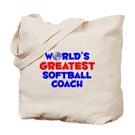 World's Greatest Softb.. (A) Tote Bag