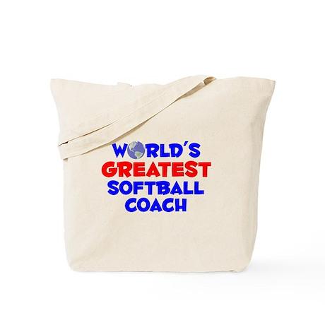 World's Greatest Softb.. (A) Tote Bag