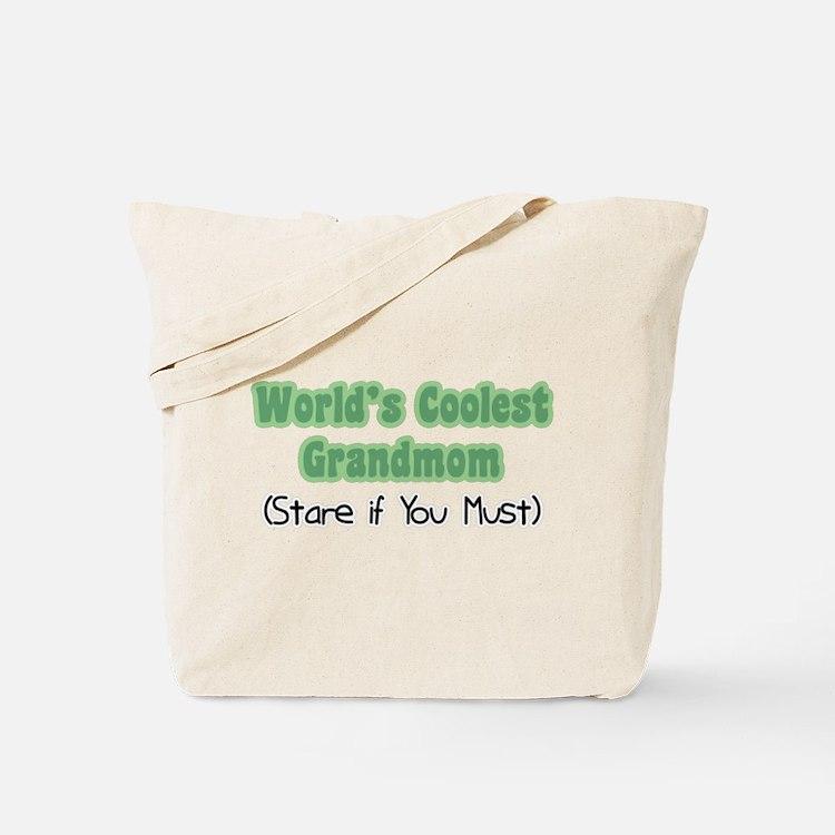 World's Coolest Grandmom Tote Bag