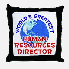World's Greatest Human.. (E) Throw Pillow