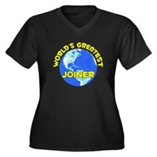 World's Greatest Joiner (D) Women's Plus Size V-Ne