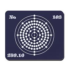 Nobelium 102 Mousepad