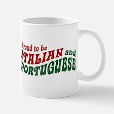Proud Italian and Portuguese Mug