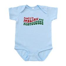 Proud Italian and Portuguese Infant Bodysuit