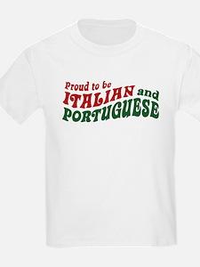 Proud Italian and Portuguese T-Shirt