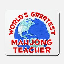 World's Greatest Mahjo.. (F) Mousepad