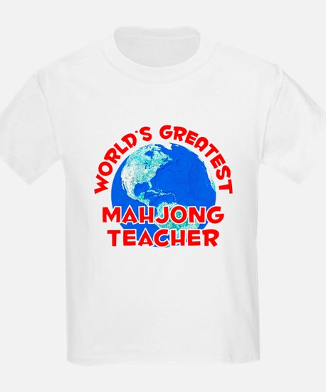 World's Greatest Mahjo.. (F) T-Shirt