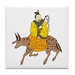 Chinese Mythology - Cow Tile Coaster