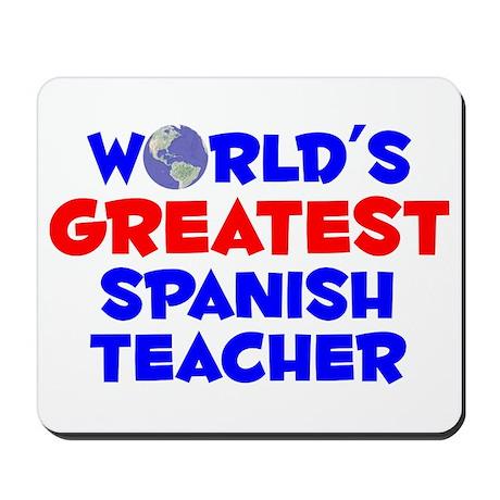 World's Greatest Spani.. (A) Mousepad