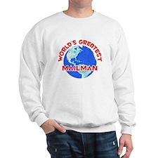 World's Greatest Mailman (F) Sweatshirt