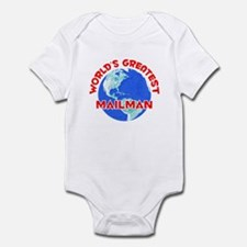 World's Greatest Mailman (F) Infant Bodysuit
