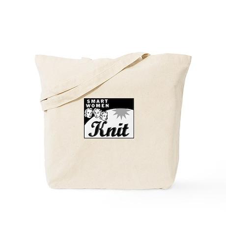 Smart Women Knit Tote Bag