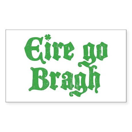 Eire Go Bragh Rectangle Sticker