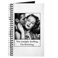 Not Tonight I'm Knitting Journal