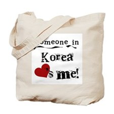 Korea Loves Me Tote Bag