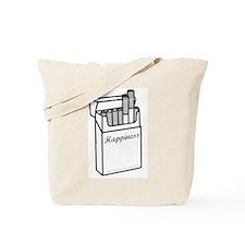 Cigarette Happiness Tote Bag