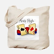 Aces High Tote Bag