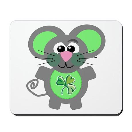 St. Patty's Day Shamrock Mouse Mousepad