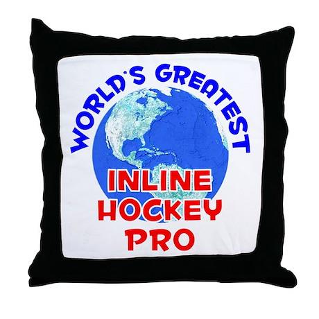 World's Greatest Inlin.. (E) Throw Pillow
