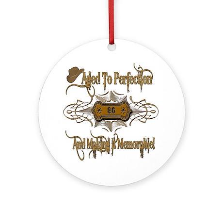 Memorable 80th Ornament (Round)