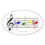 BACH Sticker (Oval)