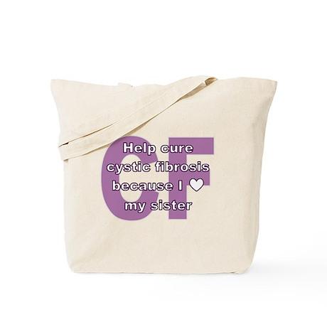 *heart* sister Tote Bag