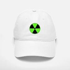 Green Radiation Symbol Baseball Baseball Cap
