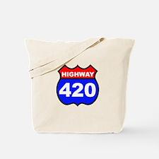 Highway 420 Tote Bag