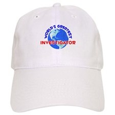 World's Greatest Inves.. (E) Baseball Cap