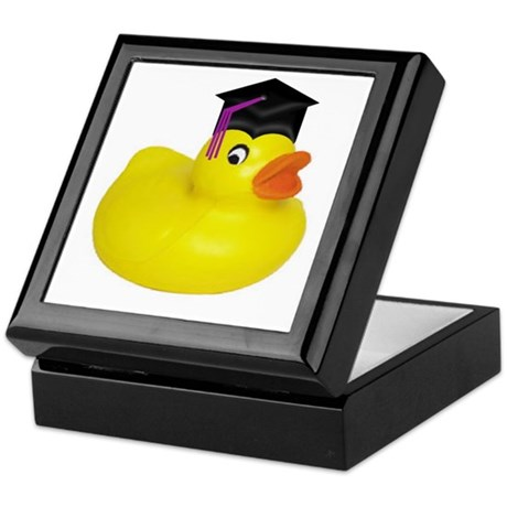 Ducky Graduation Keepsake Box