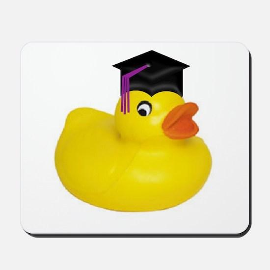 Ducky Graduation Mousepad