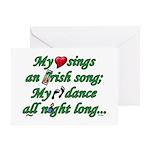 IRISH SONG Greeting Card