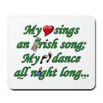 IRISH SONG Mousepad