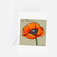 Memorial Poppy Greeting Cards (Pk of 10)