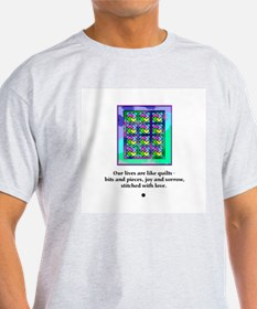 Quilts Stitched With Love T-Shirt