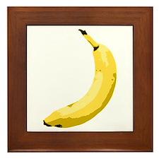 Banana Framed Tile
