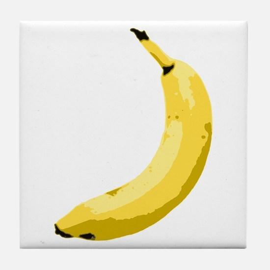 Banana Tile Coaster