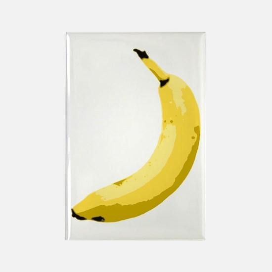 Banana Rectangle Magnet